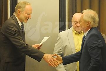 Preberanie ceny Ladislava Martoníka © Patrick Španko