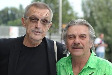 Emil Viklický a Vyril Zeleňák © Patrick Španko