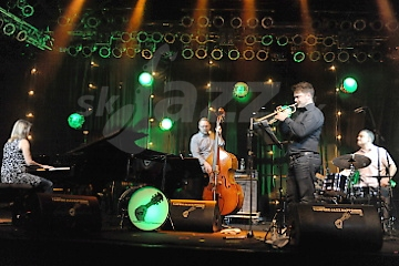 Sunna Gunnlaugs Trio a Verneri Pohjola © Patrick Španko