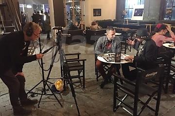 Nahrávanie rozhovorov - Ivan a Andrej Šošoka © Patrick Španko
