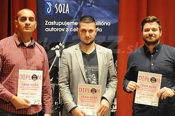 M.Daniel, E.Vizváry a Š.Uhrinčák © Patrick Španko