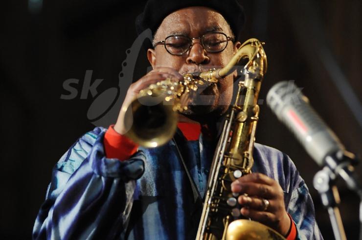 Brown, Kahil El Zabar Trio, Inntöne Jazz Festival 2009 © Patrick Španko