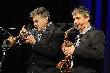 Joe Magnarelli a Dmitry Baevsky © Patrick Španko