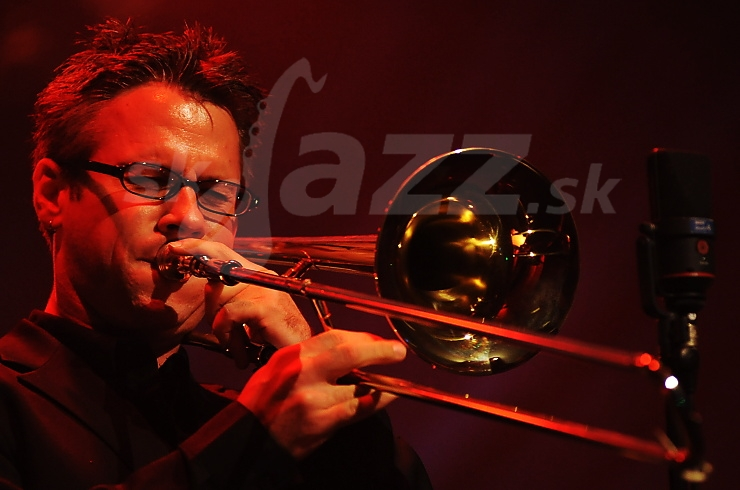 shall Gilkes, WDR Big Band, Jazz Festival Viersen 2009 © Patrick Španko