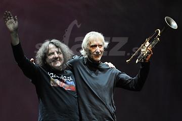 Krzysztof Kobyliński a Erik Truffaz © Patrick Španko