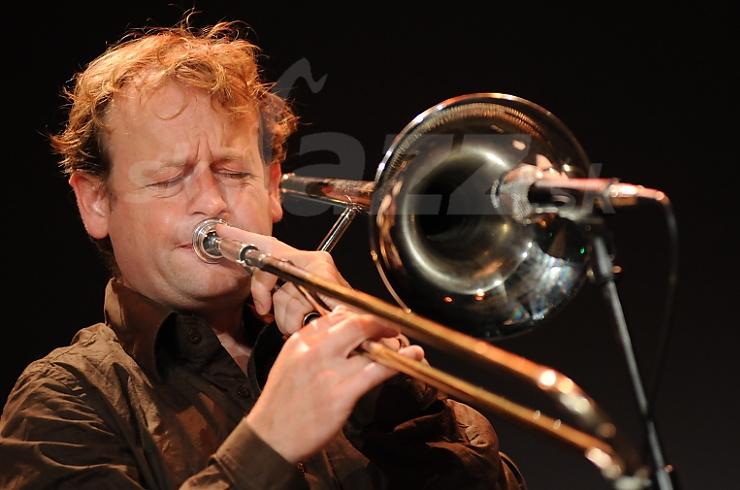 ary Jeffrey, Franz Hautzinger Band, Saalfelden Jazz Festival 2010 © Patrick Španko