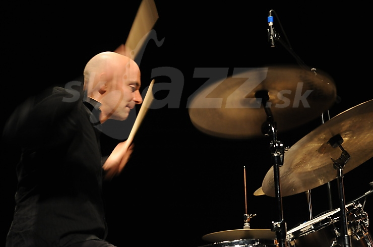 h Huntley, Rudy Linka Trio, divadlo Aréna 2010 © Patrick Španko