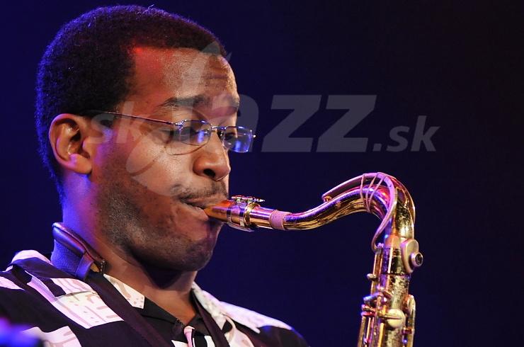 Terrence Brown, Odean Pope Group, Saalfelden Jazz Festival 2010 © Patrick Španko