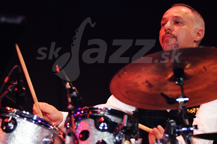 Mario Gonzi, Odean Pope Group, Saalfelden Jazz Festival 2010 © Patrick Španko