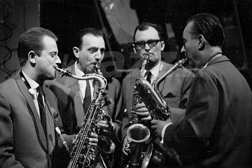 Z natáčania filmu Jazz für Zwei, archív J.Š