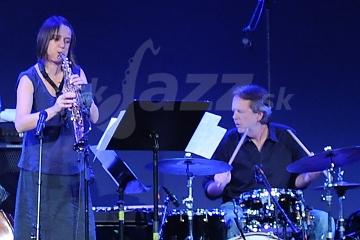 Ingrid Laubrock a Tom Rainey © Patrick Španko
