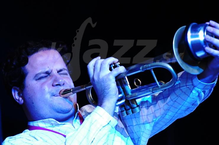 xander Wladigeroff, Fatima Spar Sextet, Saalfelden Jazz Festival 2006 © Patrick Španko