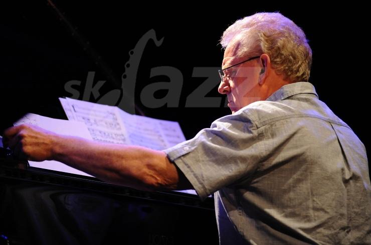 John Taylor, Marilyn Mazur Quartet, Jazz Fest Wien 2011 © Patrick Španko