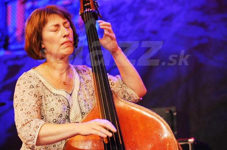 ène Labarriére, Hélène Labarriére Band, Saalfelden Jazz Festival 2008 © Patrick Španko
