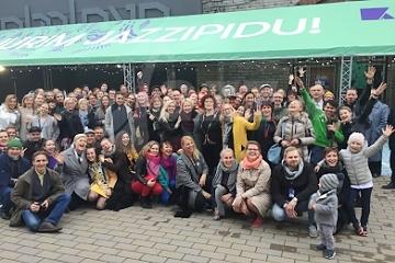 Festivalový team a zahraniční hostia © Patrick Španko