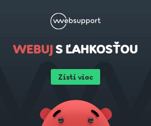 Hosting zadarmo od WebSupport.sk