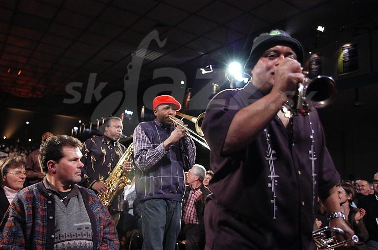 ty Dozen Brass Band, Jazzwoche Burghausen 2008  © Patrick Španko