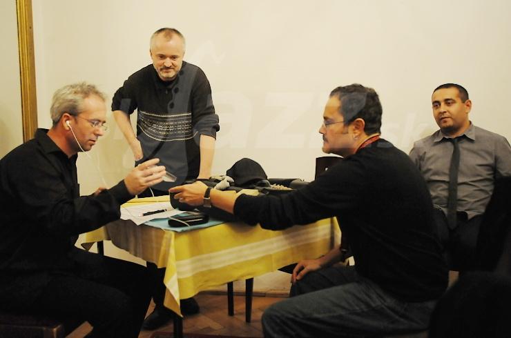 Trio a Rick Margitza, Jazz Prešov 2010 © Patrick Španko