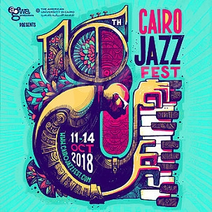 Jubilejný Cairo Jazz Festival 2018 !!!