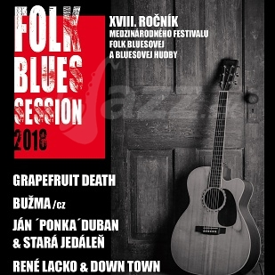 Folk Blues Session - XVIII. ročník festivalu !!!