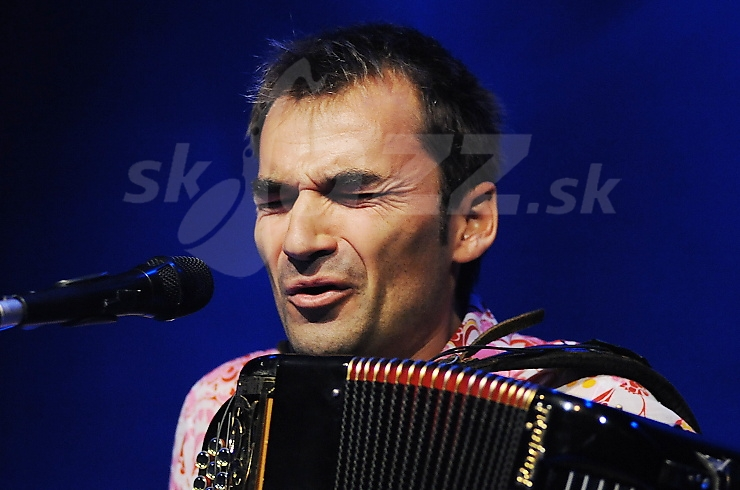 Akordeonista Arnaud Méthivier