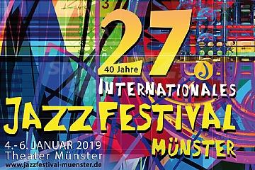 Dnes začína 27. Internationales Jazzfestival Münster 2019 !!!