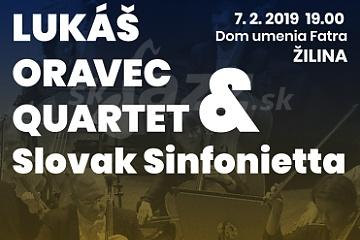 ZA: Lukáš Oravec Quartet & Slovak Sinfonietta !!!