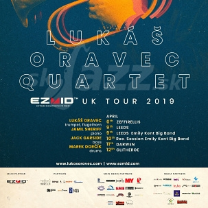 Lukáš Oravec Quartet na turné po Spojenom kráľovstve !!!