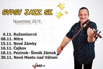 Gypsy Jazz Sk na tour po Slovensku !!!