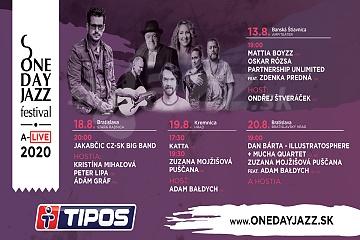 One Day Jazz Festival pokračuje !!!