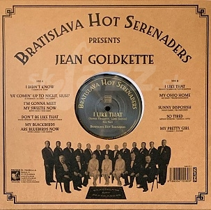 Bratislava Hot Serenaders present Jean Goldkette - I Like That !!!