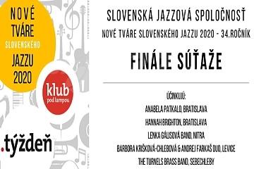 Nové tváre slovenského jazzu 2020 - ocenení !!!