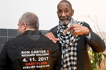 Noblesní Ron Carter a Richard Galliano !!!