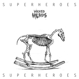 CD Wicked Heads – Superheroes