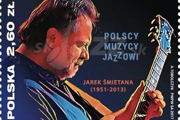 Na štátom vydanej známke je jazzman !!!