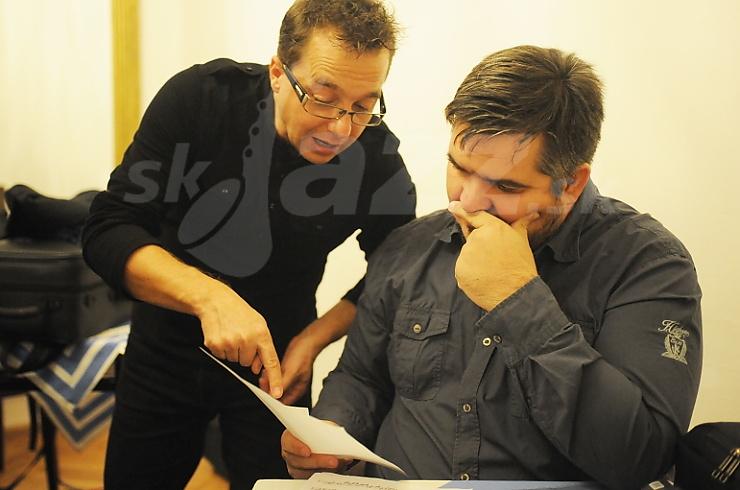 Peter Adamkovič a Ondrej Juraši