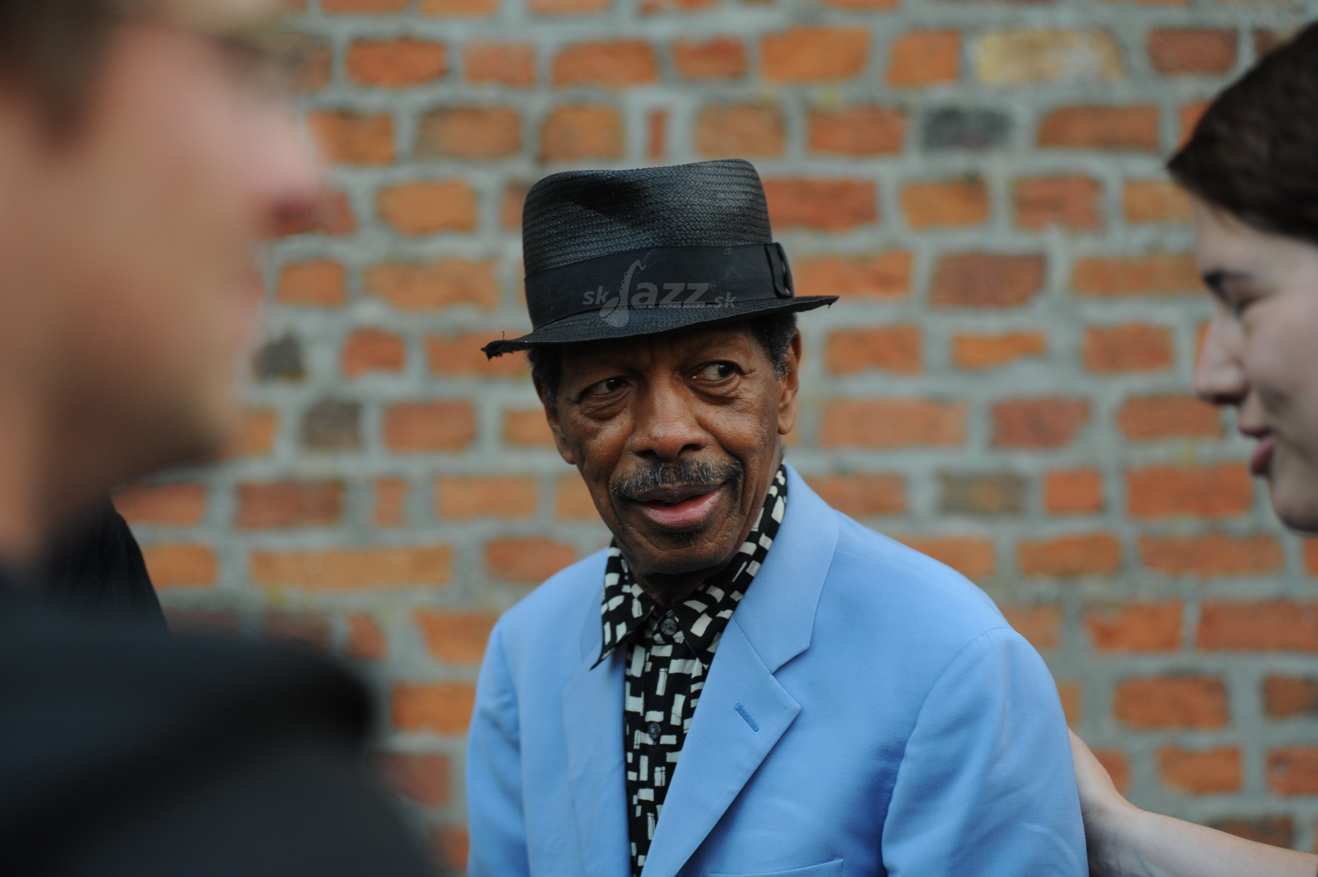 Saxofonista a trubkár Ornette Coleman !!!
