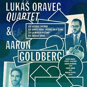 Lukáš Oravec Quartet & Aaron Goldberg Tour !!!