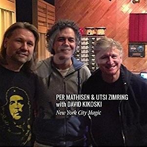 CD Per Mathisen - Utsi Zimring with David Kikoski: New York City Magic
